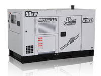 JDP64GF~200GF-LDE DIESEL GENERATOR POWERED BY JDP ENGINE