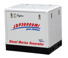 JDP3000MI~35000MIY MARINE GENERATOR POWERED BY WATER COOLED ENGINE
