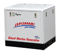 JDP3000~12000MI MARINE DIESEL GENERATOR ​ POWERED BY KUBOTA ENGINE