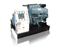 JDP8~50DEA DIESEL GENERATOR POWERED BY AIR-COOLED ENGINE